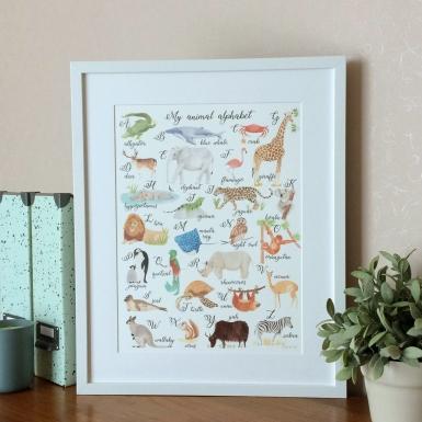 Animal Alphabet (English)