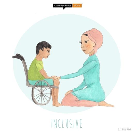 Inclusive theme - Creative Morning Jakarta