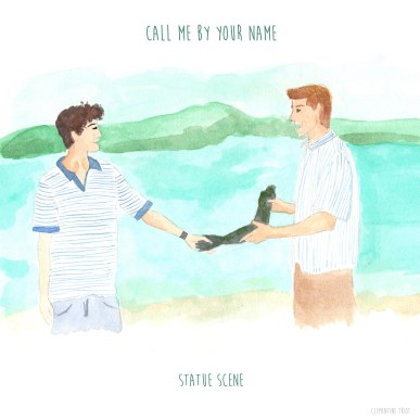 Call me by your name (statue scene)