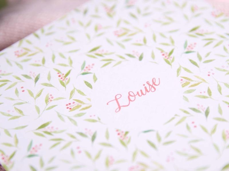 Birth Announcement - Louise